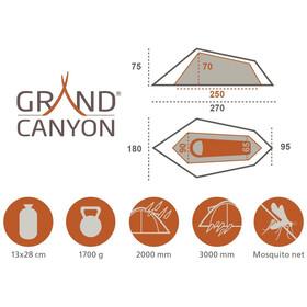 Grand Canyon Richmond 1 Tente, green
